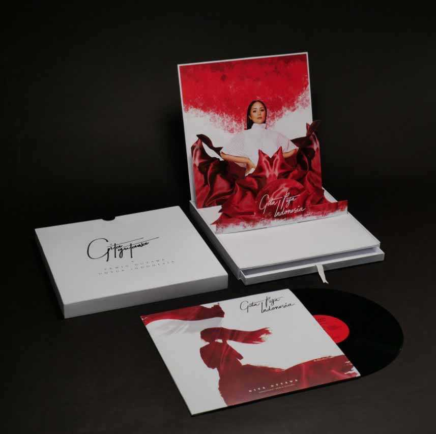 VINYL GITA PUJA INDONESIA PREMIUM BOX SET