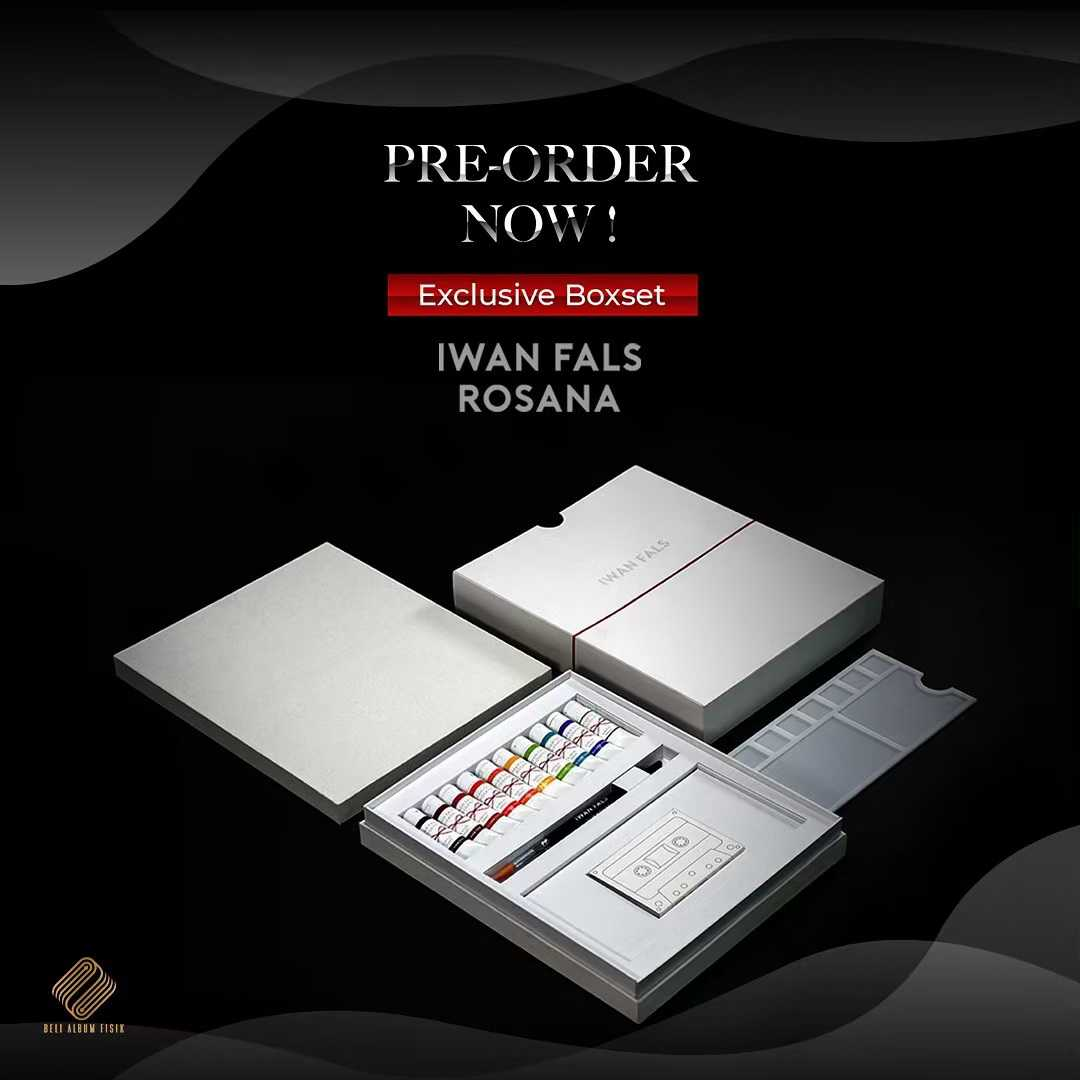 Pre-Order Iwan Fals Rosana Box Set Limited Edition