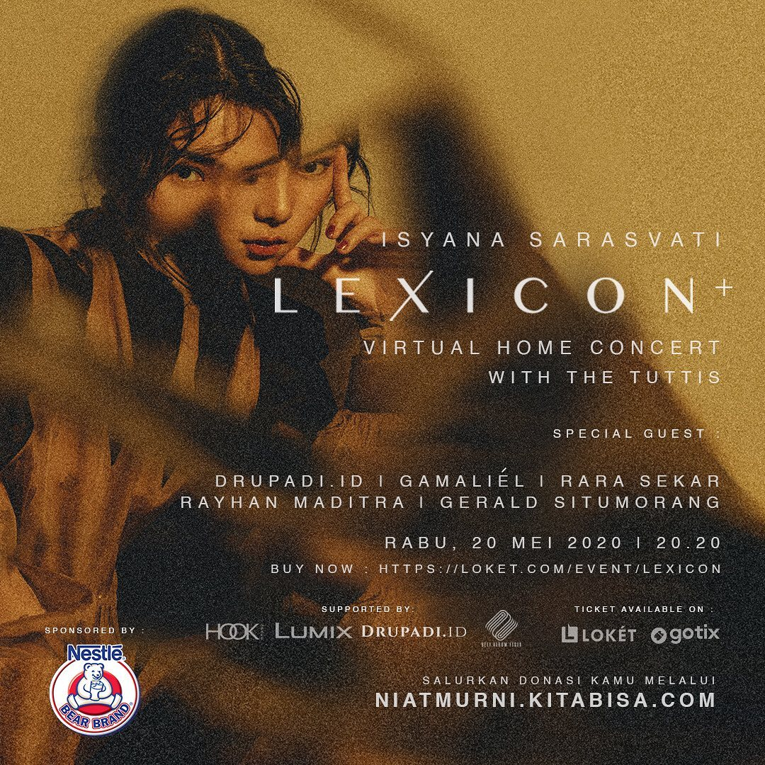 Lexicon + Virtual Home Concert Isyana Sarasvati