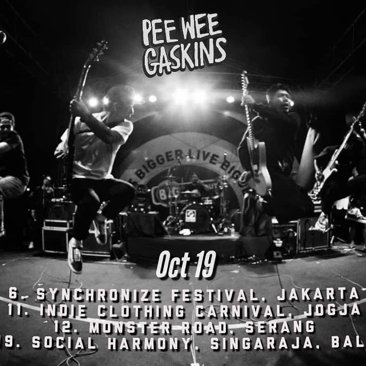 Pee Wee Gaskins Tampil Di Synchronize Festival 2019