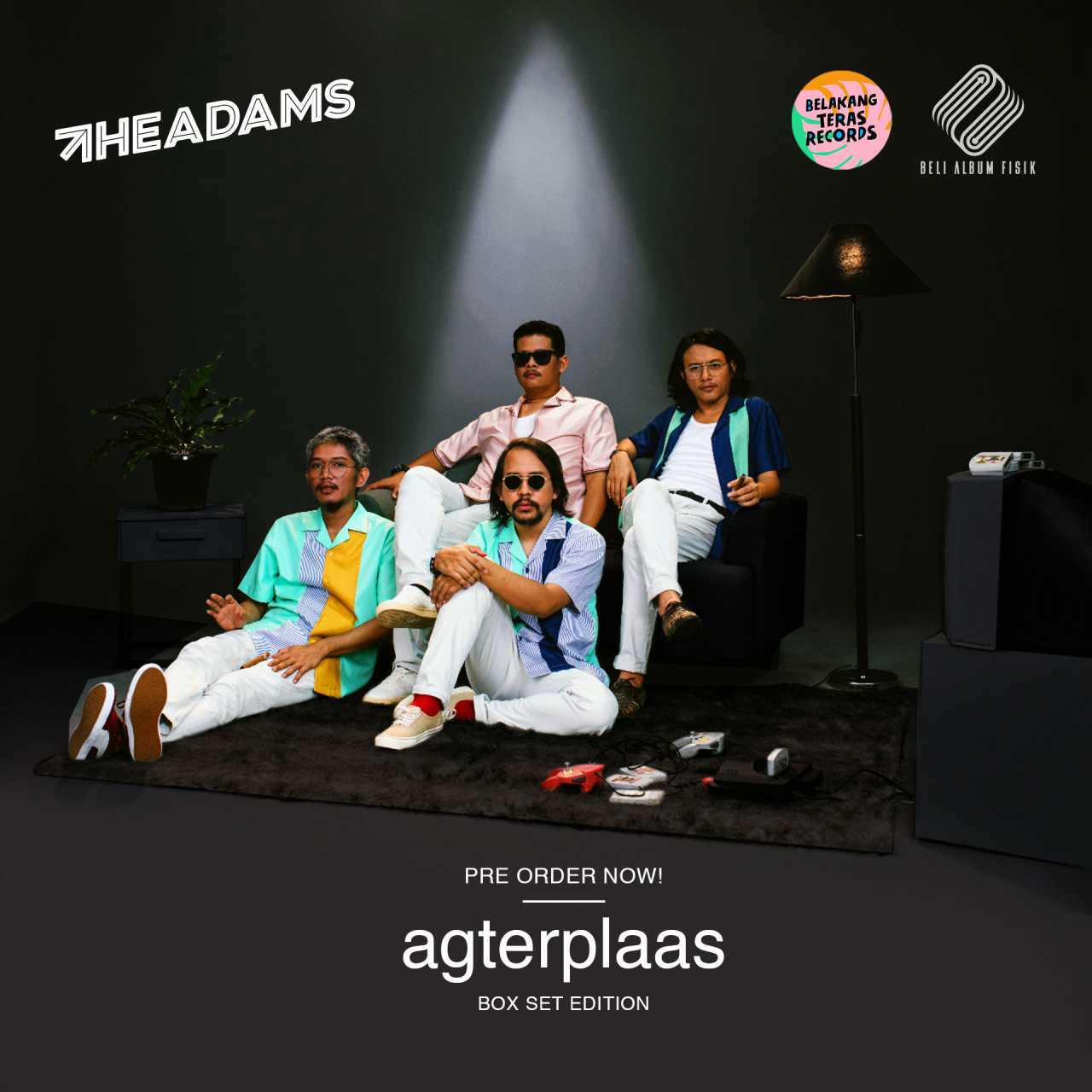 Agterplaas! The Adams Berani Main Fisik