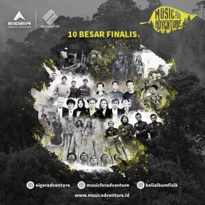 Dukung 10 Band Finalis Music for Adventure